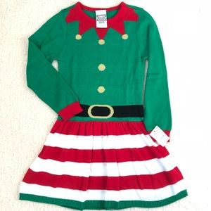 Other - NWT girls 4/5 Christmas sweater dress